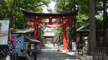 伊佐須美神社入口