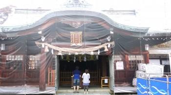 田懸神社拝殿