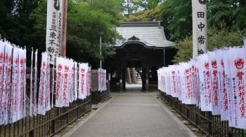 豊川稲荷奥の院門