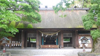 籠神社拝殿正