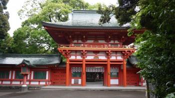 大宮氷川神社楼門