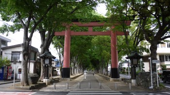 大宮氷川神社二の鳥居