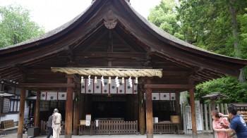 大懸神社拝殿