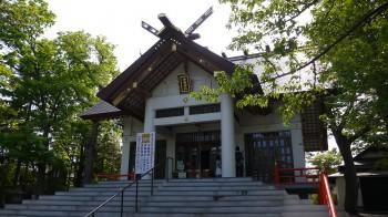 手稲神社本殿