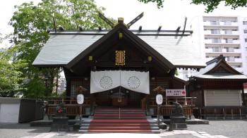 北海道神宮頓宮社殿