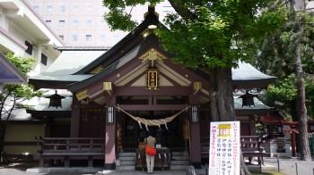 札幌三吉神社本殿