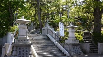 手稲神社境内