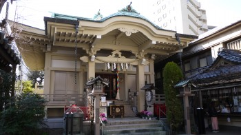 矢先神社本殿