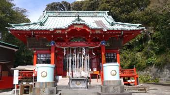 海南神社本殿