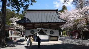 富士御室浅間神社随神門