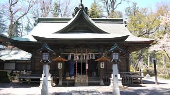 小室浅間神社拝殿