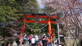 新倉浅間神社入口