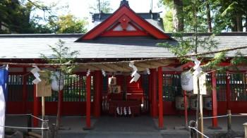 生島足島神社下社