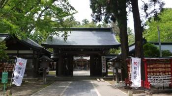 駒形神社神門