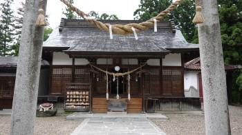 花巻神社拝殿