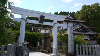 金蛇水神社入口