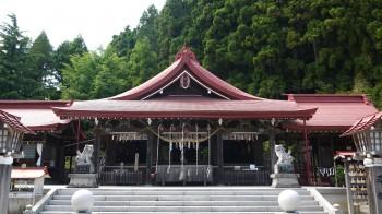 金蛇水神社拝殿