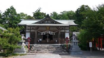加佐登神社拝殿