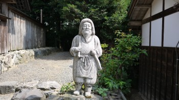 加佐登神社日本尊像