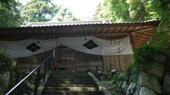 武田八幡拝殿
