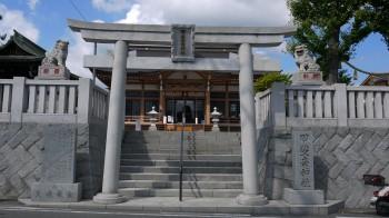 甲斐奈神社入口