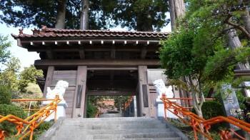 気仙沼観音寺山門