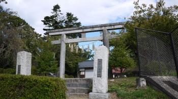古谷館八幡宮入口