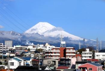 三島からMt Fuji