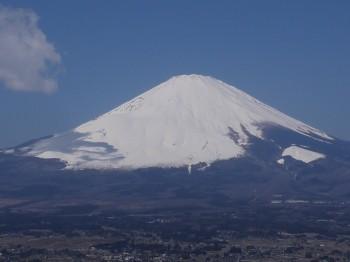 足柄峠からの富士1