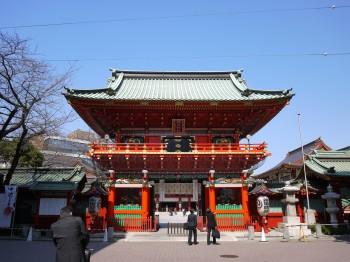 神田神社門