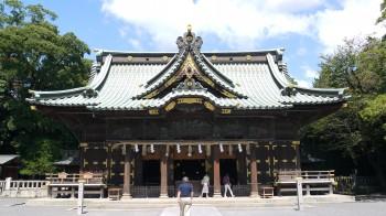 三島大社拝殿