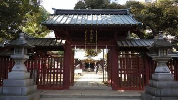 金王八幡門