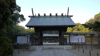 宮崎神宮神門