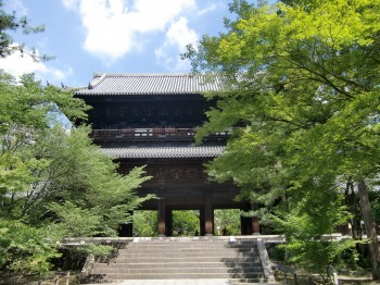 南禅寺三門の夏
