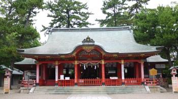 長田神社本殿