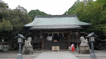 宇都宮二荒山神社拝殿