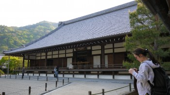 天竜寺本堂