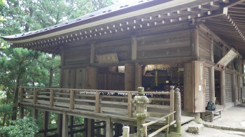 室生寺奥の院常燈堂