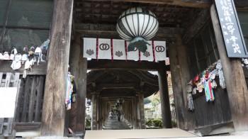 長谷寺仁王門から登廊