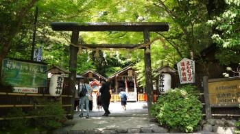 野宮神社入り口