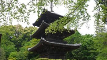 三井寺三重塔