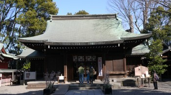 川越氷川神社本殿