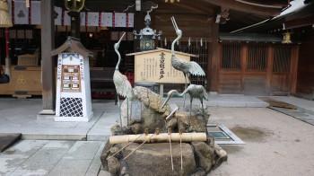 櫛田神社鶴の井戸
