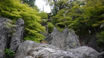 石山寺経岩石