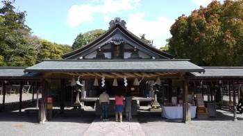 宗像大社拝殿