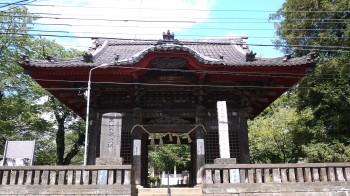 千葉寺山門
