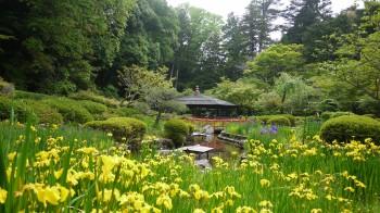 石山寺庭園