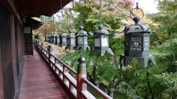 談山神社拝殿廊下