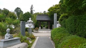 慈雲寺入り口