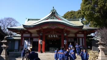 品川神社本堂